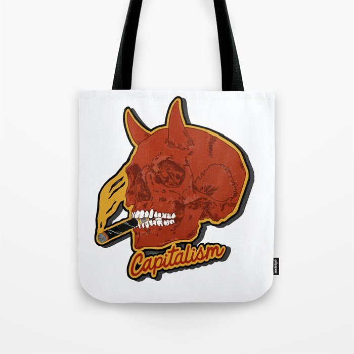 The Devil you know Tote Bag