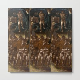 "Edward Burne-Jones ""The Car of Love, or Love's Wayfaring"" Metal Print"
