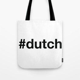 DUTCH Hashtag Tote Bag