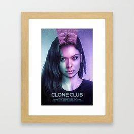 Clone Club (Orphan Black) Framed Art Print