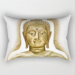 Golden Buddha Rectangular Pillow