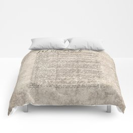 United States Bill of Rights (US Constitution) Comforters