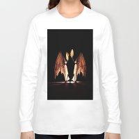 bat Long Sleeve T-shirts featuring bat by new art