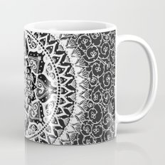Yin Yang Mandala Pattern Mug