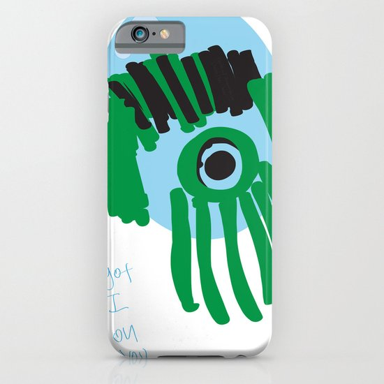 my eye is only on you [SQUID] [EYE]  iPhone & iPod Case
