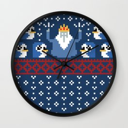 Ice King and Minions Wall Clock