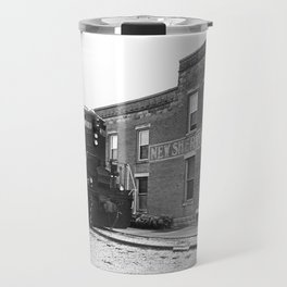 Train and Sherwood Hotel Travel Mug