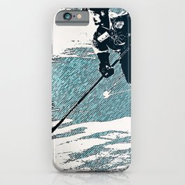 The Break- Away - Hockey Players iPhone Case