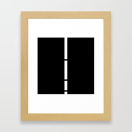 Minimal White 9 Framed Art Print