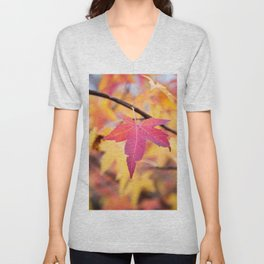 Autumn Still Unisex V-Neck