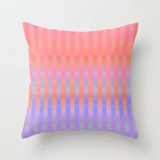 Oh So Stripy Throw Pillow
