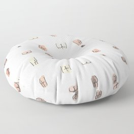 butts Floor Pillow