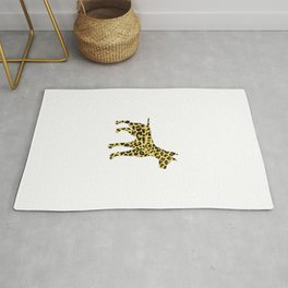 Dog Cheetah Rug