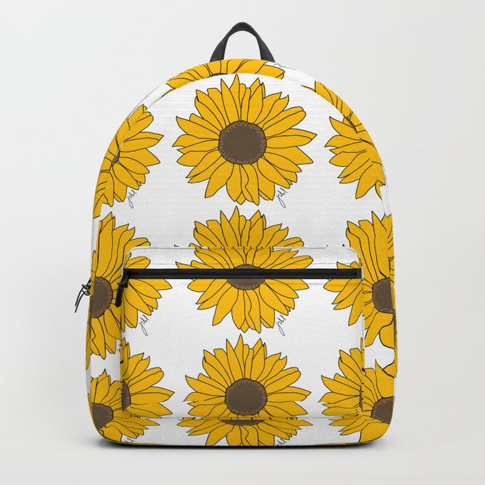 Sunflower Power Rucksack