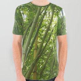 Bamboo Forest All Over Graphic Tee