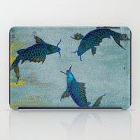 koi iPad Cases featuring Koi  by Saundra Myles