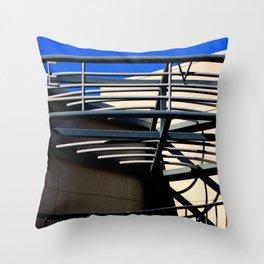 E V - Metal On Metal Throw Pillow