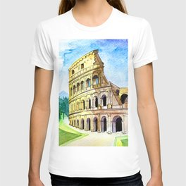 Summer in Rome - Colosseum  T-shirt