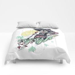 livin la vida loca Comforters