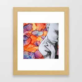 Conspiracy Theory Framed Art Print
