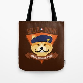 Hello wow, Omelette du Fromage So Much Tote Bag
