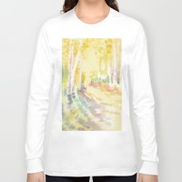 forrest Long Sleeve T-shirts featuring Forrest by Susie McColgan