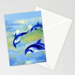 Dolphin Fantasy Stationery Cards