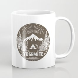 Yosemite National Park Bear Coffee Mug