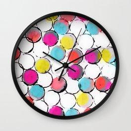 Circle Painting  Wall Clock