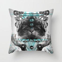 Cattus Throw Pillow