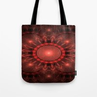 solar system Tote Bags featuring Solar System by Brian Raggatt
