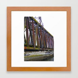 The Many Shades of Rust Framed Art Print