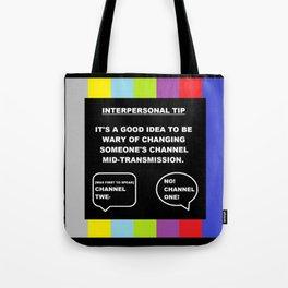 A TV Life Tip #1 Tote Bag