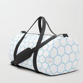 Honeycomb - Blue #370 Duffle Bag