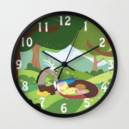 Mid-Day Nap Wall Clock