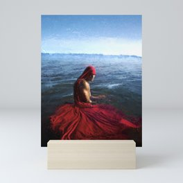 The Drenched Sultan Sinbad Mini Art Print