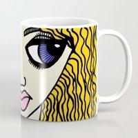 sassy Mugs featuring Sassy by Kurit Mikay