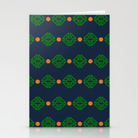 preppy Stationery Cards featuring Preppy Logo by Lillian Burns