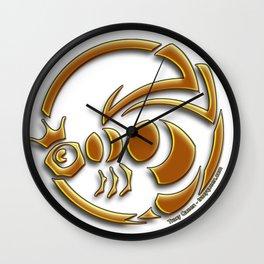 Queen Bee - The crest of Tracy Queen Wall Clock