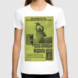 Texas Chainsaw Massacre Vintage Poster T-shirt