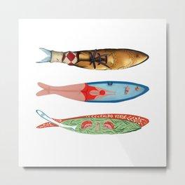 sardinhas 6 Metal Print