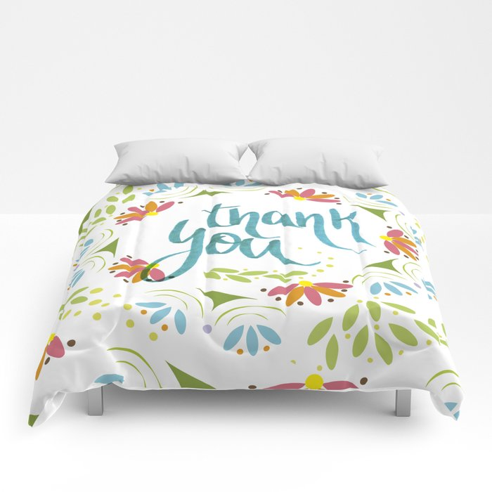 Thank you! Comforters