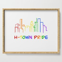 H-Town Pride (Color) Serving Tray