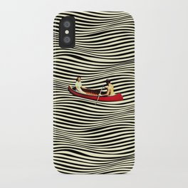 Illusionary Boat Ride iPhone Case