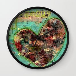 Permission Series: Gorgeous Wall Clock