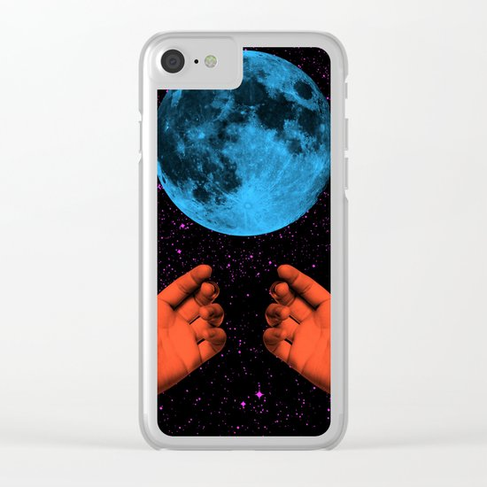 Come Unto Thee Clear iPhone Case