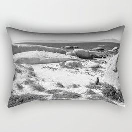 Penguin colony on Boulders Beach - Cape Town, South Africa Rectangular Pillow