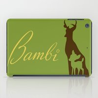 bambi iPad Cases featuring Bambi by Citron Vert