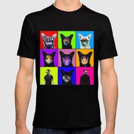 GALANTIS SEAFOX FAMILY POPART T-shirt