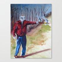 dave matthews Canvas Prints featuring Dave by David D'Ostilio